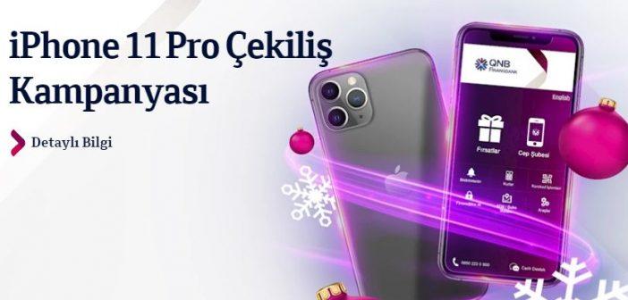 QNB Finansbank iPhone 11 Pro Çekilişi Sonucu