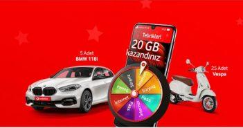 Vodafone Hediye Çarkı Çekilişi Sonuçları