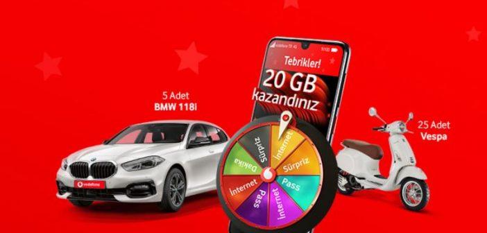 Vodafone Hediye Çarkı Çekilişi Sonucu Açıklanıyor!