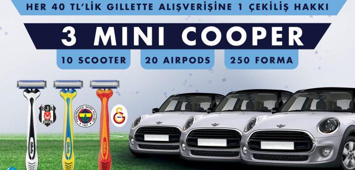 Gillette Mini Cooper Çekilişi