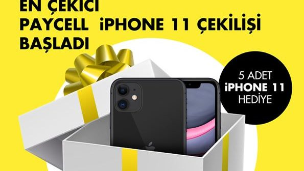 Turkcell Paycell iPhone 11 Çekilişi