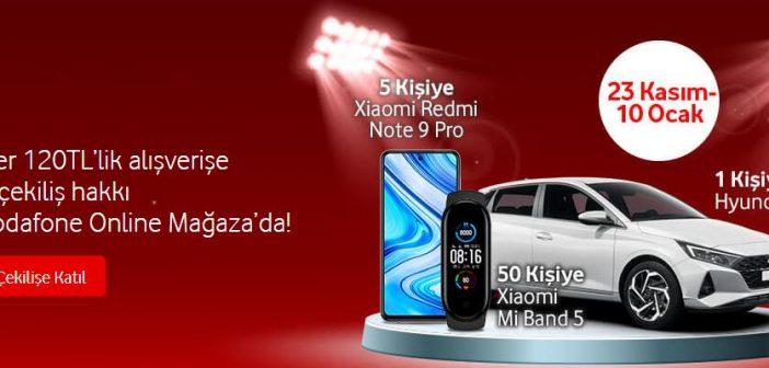 Vodafone Online Mağaza Hyundai i20 Çekilişi