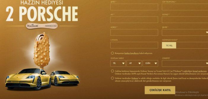 Magnum Porsche Çekilişi 2021